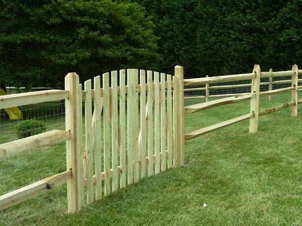 Split Rail Fence Installation Near Burlington Vt