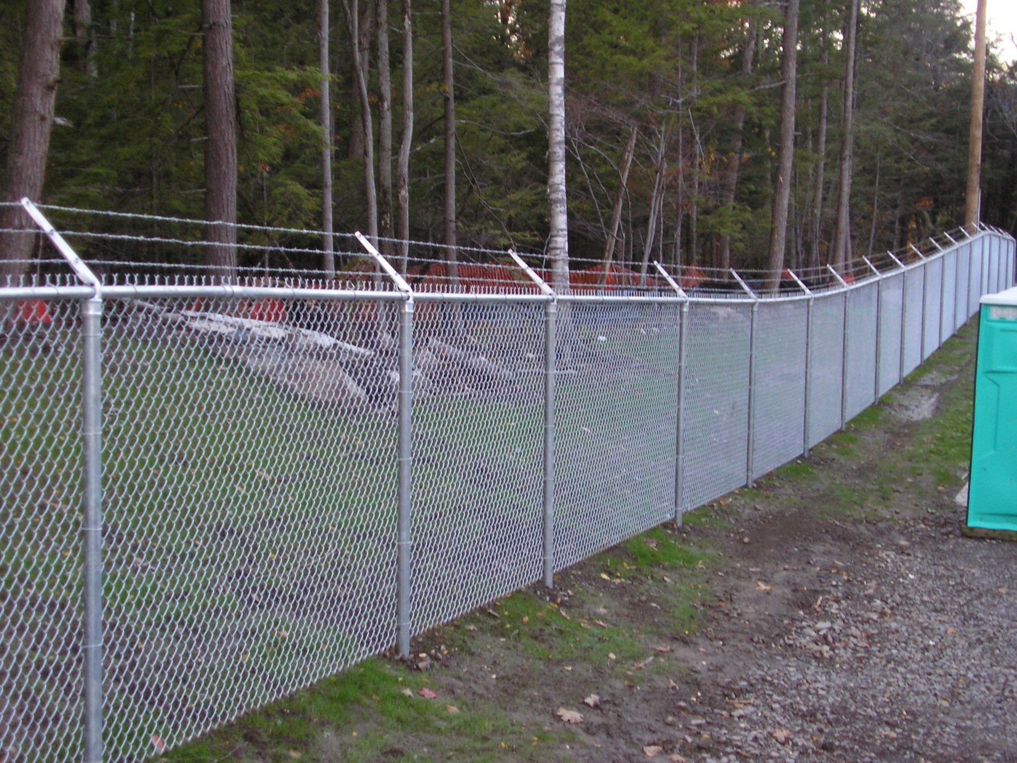 Security chain link fence installations near burlington vt