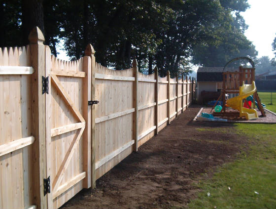 Stockade Privacy Fence Installation Near Burlington Vt