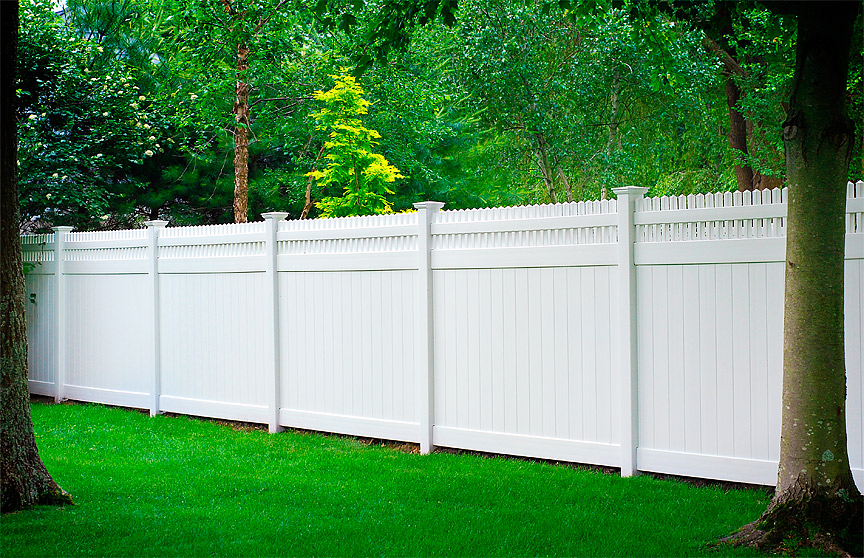 Privacy Panel Fence Installation Near Burlington Amp Essex